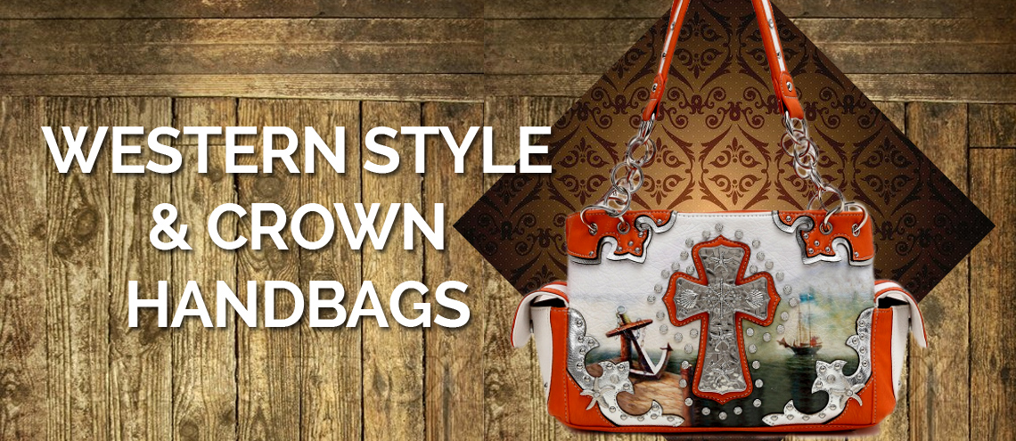Western Style & Crown Handbags