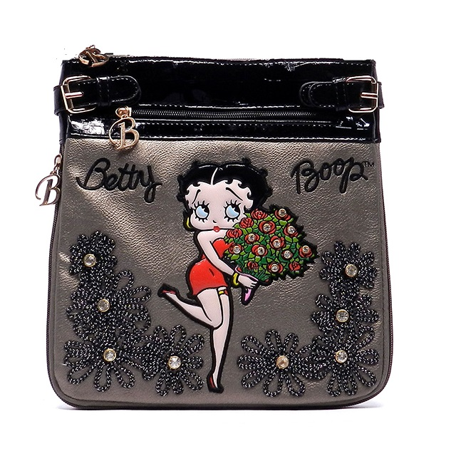 3a0eb973437f BP103 Gun Betty Boop Messenger Bag - Betty Boop Handbags