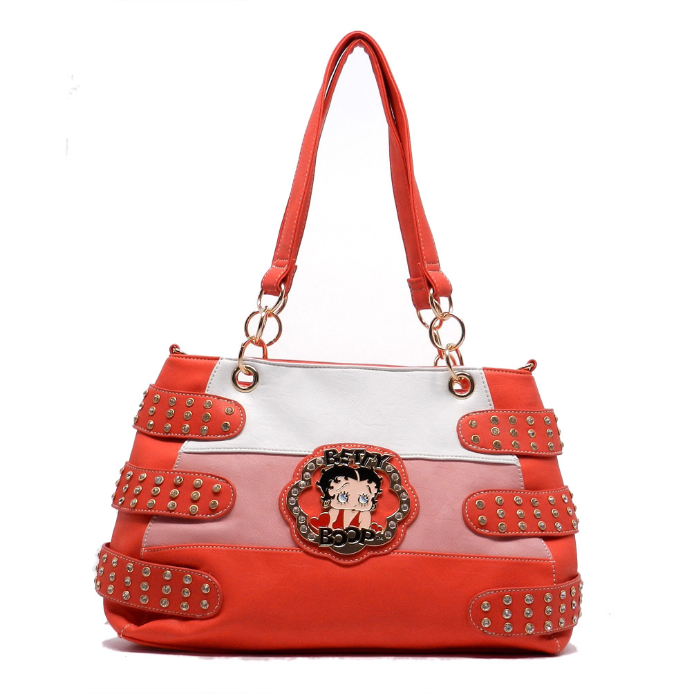 df4d9b964f21 BP135 TOMATOE Wholesale Betty Boop Handbag - Betty Boop Handbags
