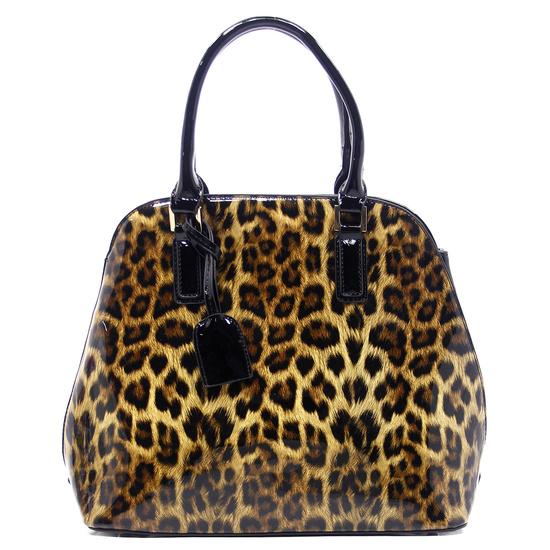 K172 Black Fashion Animal Print handbag